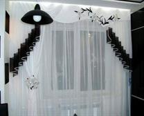 White Shade Curtains