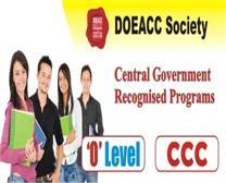 DOEACC SOCIETY 'O'LEVEL & CCC & BCC