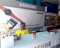 Samsung mobile counter