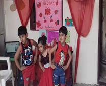 Red day celebration