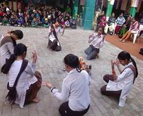 lohri utsav celebrate in school