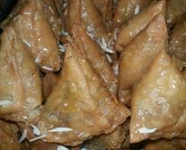 sweet Dry Fruit Samosa