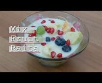 mix fruit raita