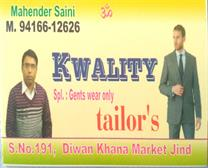 kwality tailor's