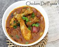 CHICKEN DO PYAZA