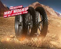 MRF  MORGRIP TYRES