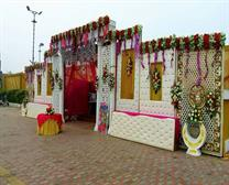 sangam flower gate decorator