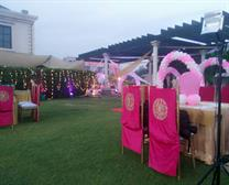 birthday function by sangam tent