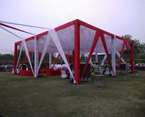 SANGAM TENT VIP DECORATION