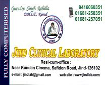 JIND CLINICAL LABORATORY