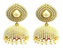 Traditional Pearl Jhumki