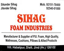 SIHAG FOAM INDUSTRIES
