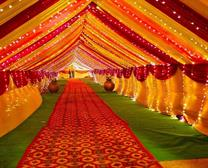 entrance wedding mandap