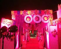 Pink colour lighting gallery