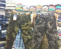 ARMY CARGO PANTS IN UACHANA