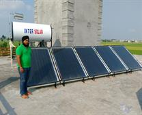 Solar Water Heater for Heating