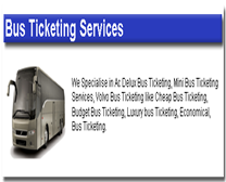Bus Ticketing Provider in Kaithal