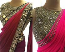 PARTY WEAR SAREES IN JIND
