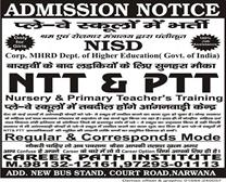 BEST NTT & PTT TRAINING IN NARWANA