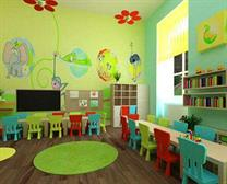 Colorful class rooms