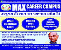 MAX CAREER CAMPUS IN HANSI
