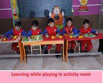 Learning While Playing Activities