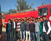 Visit By Students in Fire Station