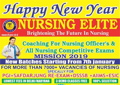 New Nursing Batch in January