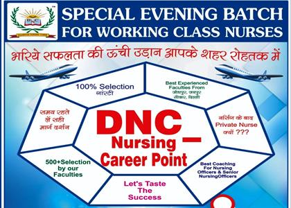 Special Evening Batch for Nurse