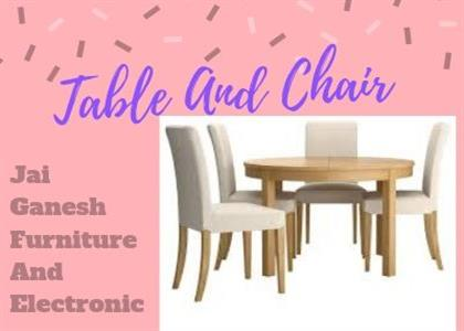 Table And Chair In Jind