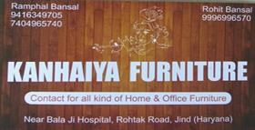 KANHAIYA FURNITURE JIND