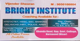 BRIGHT INSTITUTE NARNAUND