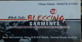 Blessing Garments