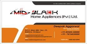 MID BLACK HOME APPLIANCES