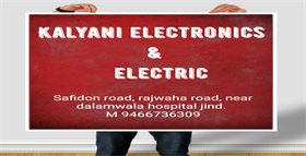 KALYANI ELECTRONICS AND ELECTRIC JIND