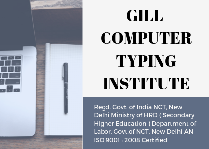 Gill Computer Typing Institute