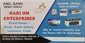 Hari Om Enterprises