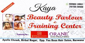 KAYA BEAUTY PARLOUR AND BOUTIQUE