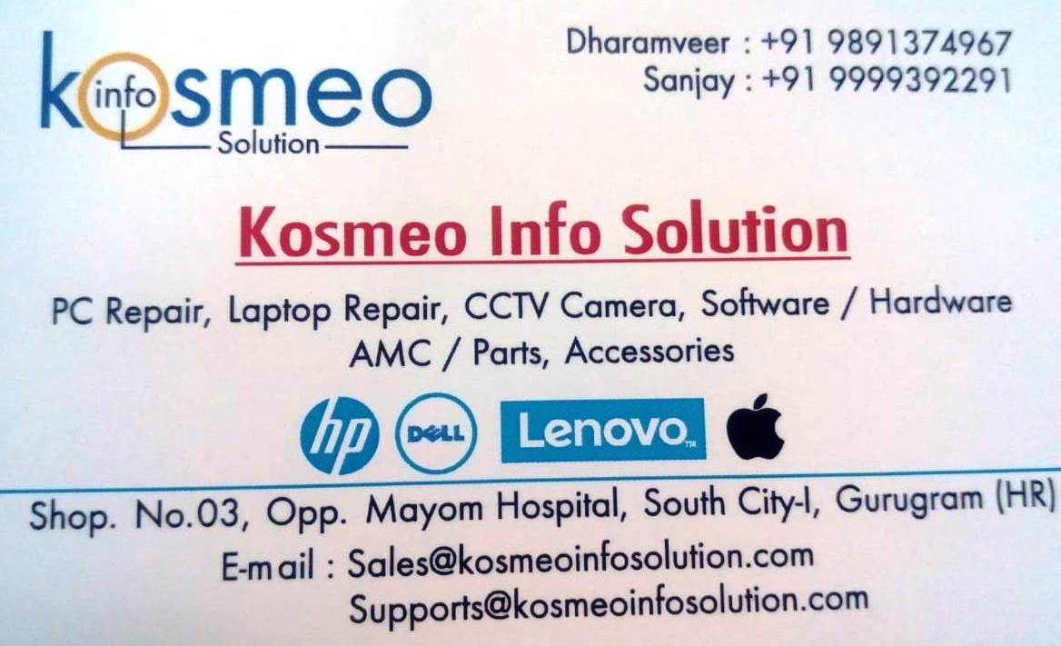 KOSMEO INFO SOLUTION GURGAON
