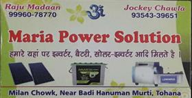 MARIA POWER SOLUTION