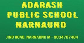 ADARASH PUBLIC SCHOOL NARNAUND