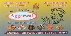 AGGARWAL SWEETS AND NAMKEEN JIND