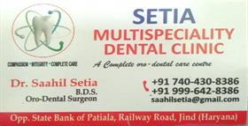 SETIA MULTISPECIALITY DENTAL CLINIC JIND