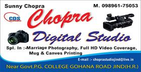 CHOPRA DIGITAL STUDIO JIND