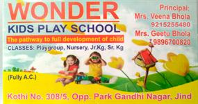 WONDER KIDS PLAY SCHOOL JIND