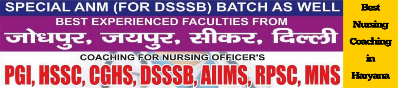 Best Nursing Coaching in Haryana